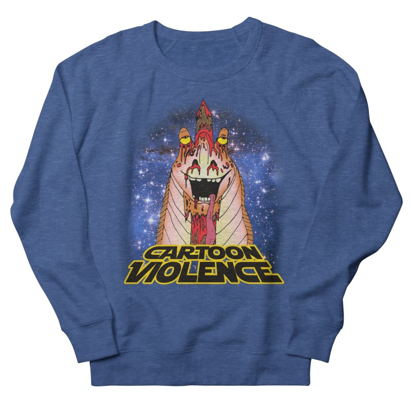 Jar Jar's Stupid Head Men's French Terry Sweatshirt by Shirts by Cartoon Violence