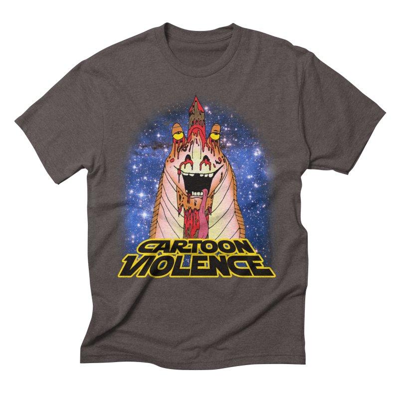 Jar Jar's Stupid Head Men's Triblend T-Shirt by Shirts by Cartoon Violence
