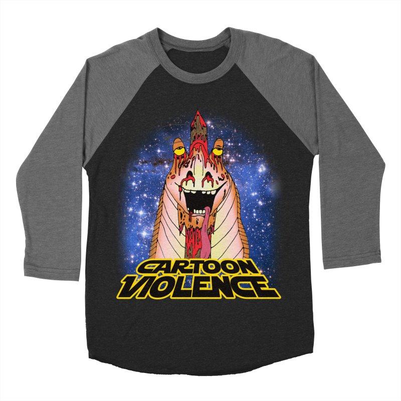 Jar Jar's Stupid Head Women's Baseball Triblend Longsleeve T-Shirt by Shirts by Cartoon Violence