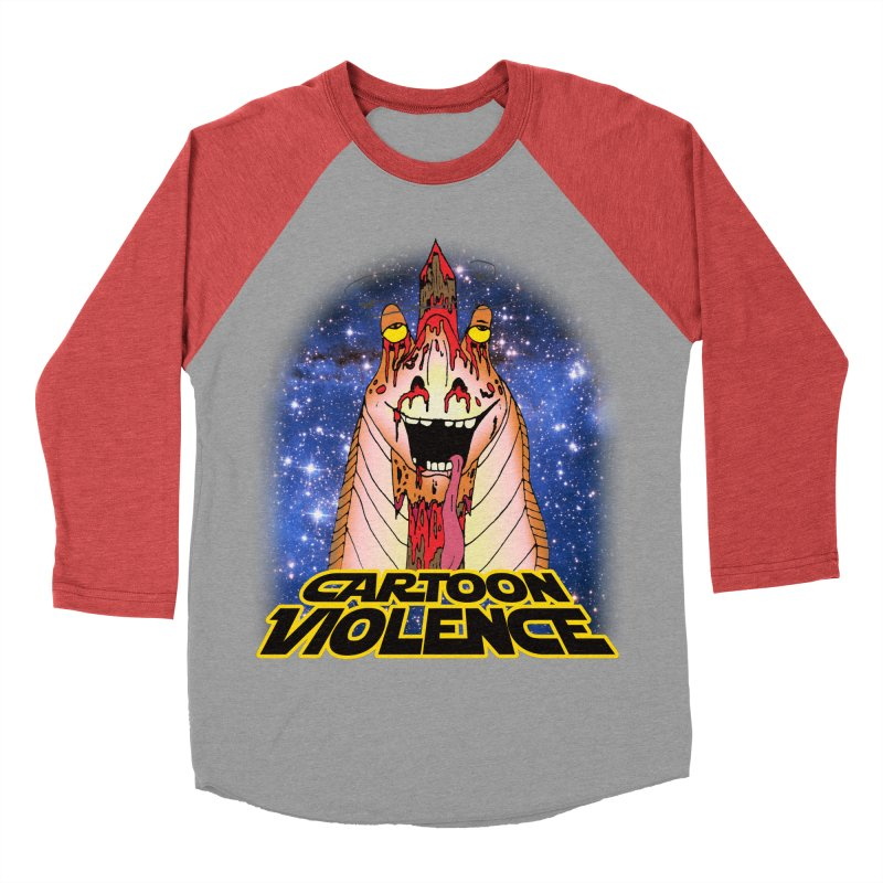 Jar Jar's Stupid Head Men's Longsleeve T-Shirt by Shirts by Cartoon Violence