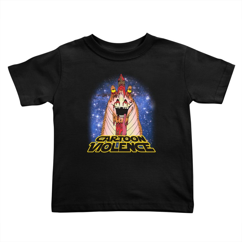 Jar Jar's Stupid Head Kids Toddler T-Shirt by Shirts by Cartoon Violence