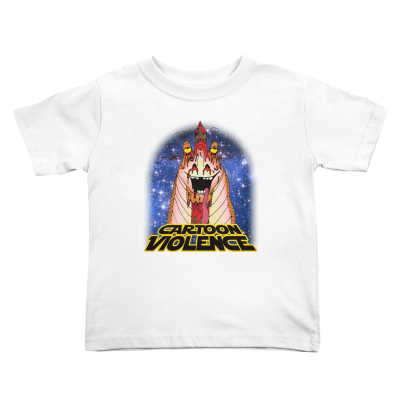 Jar Jar's Stupid Head Kids Toddler T-Shirt by Shirts by Cartoon Violence