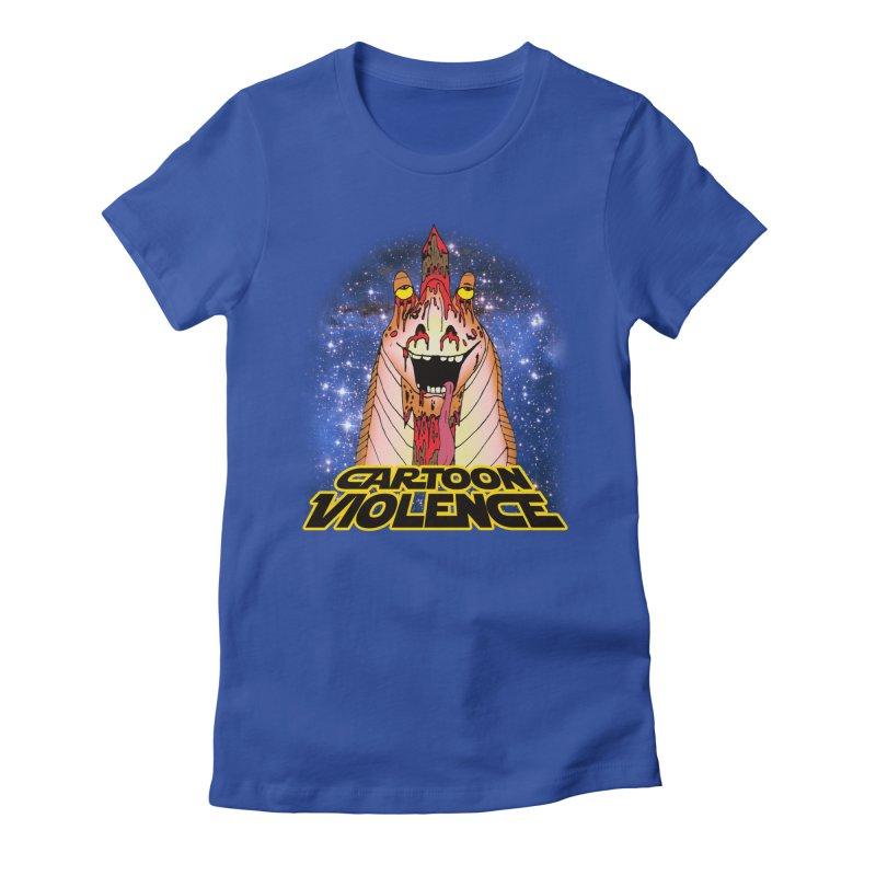 Jar Jar's Stupid Head Women's T-Shirt by Shirts by Cartoon Violence