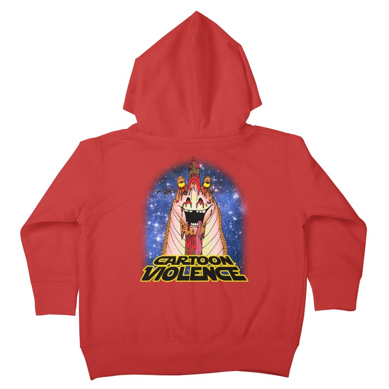 Jar Jar's Stupid Head Kids Toddler Zip-Up Hoody by Shirts by Cartoon Violence