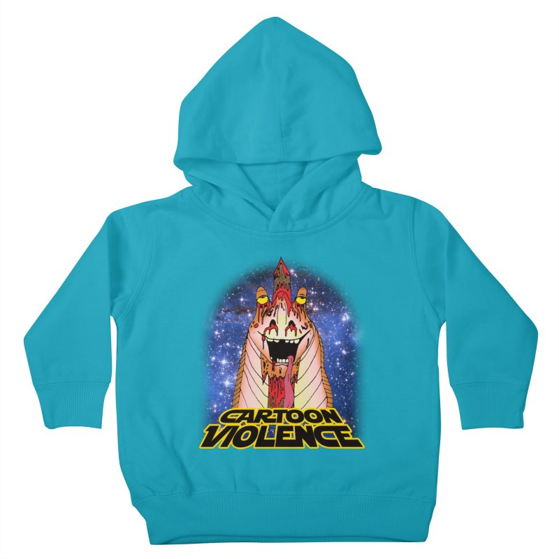 Jar Jar's Stupid Head Kids Toddler Pullover Hoody by Shirts by Cartoon Violence