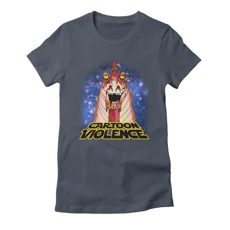 Jar Jar's Stupid Head Women's T-Shirt by Shirts by Cartoon Violence