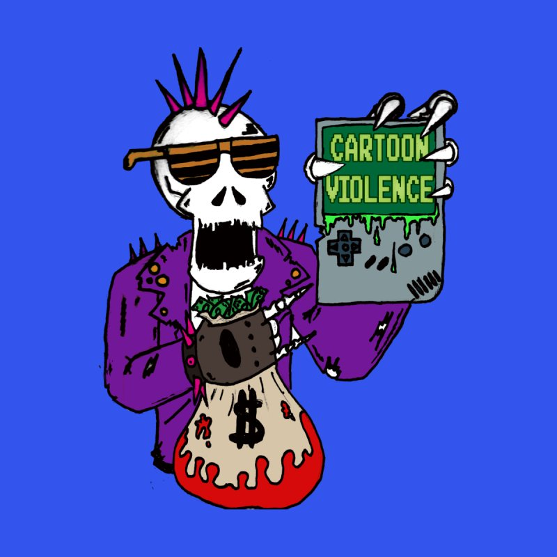 Death Taxes and Chiptunes by Shirts by Cartoon Violence