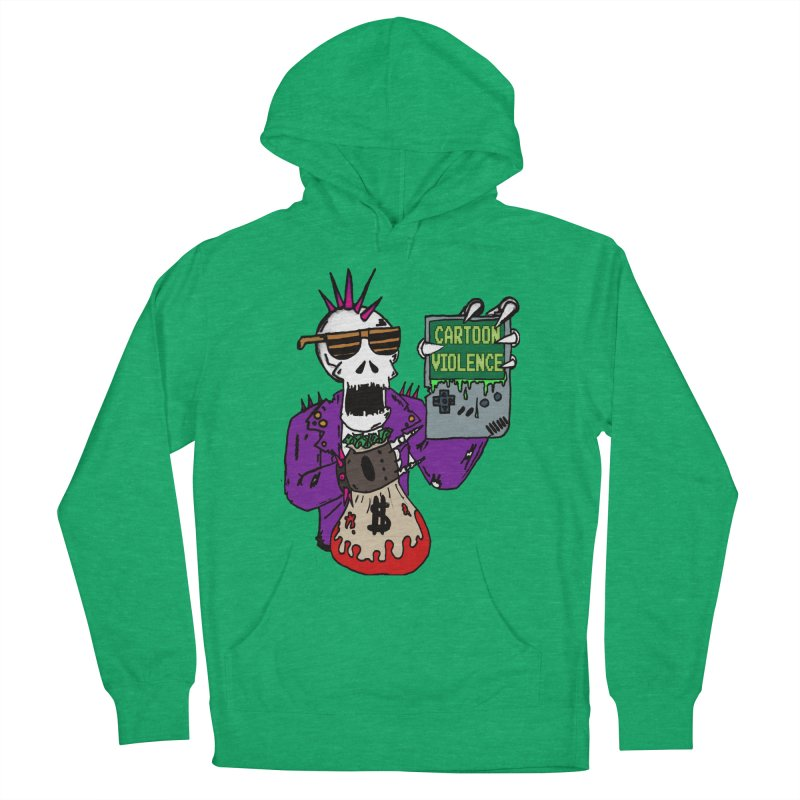Death Taxes and Chiptunes Women's Pullover Hoody by Shirts by Cartoon Violence