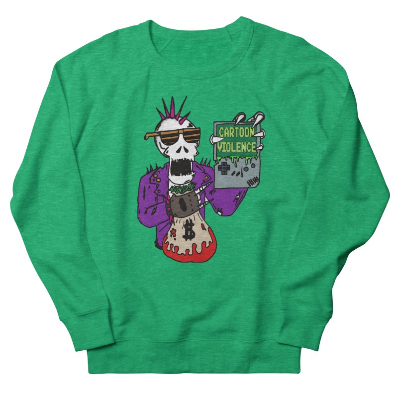 Death Taxes and Chiptunes Women's Sweatshirt by Shirts by Cartoon Violence