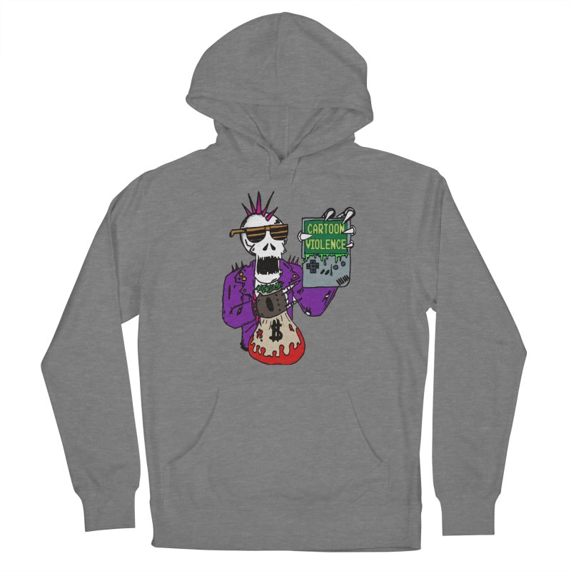 Death Taxes and Chiptunes Men's Pullover Hoody by Shirts by Cartoon Violence