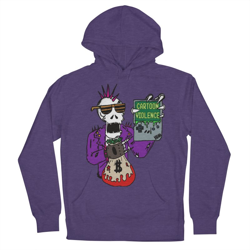 Death Taxes and Chiptunes Men's French Terry Pullover Hoody by Shirts by Cartoon Violence