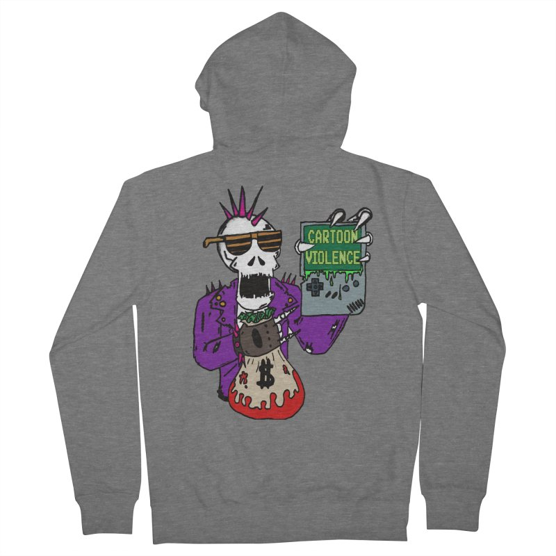 Death Taxes and Chiptunes Men's Zip-Up Hoody by Shirts by Cartoon Violence