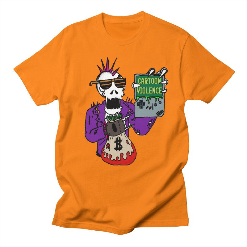 Death Taxes and Chiptunes Men's Regular T-Shirt by Shirts by Cartoon Violence