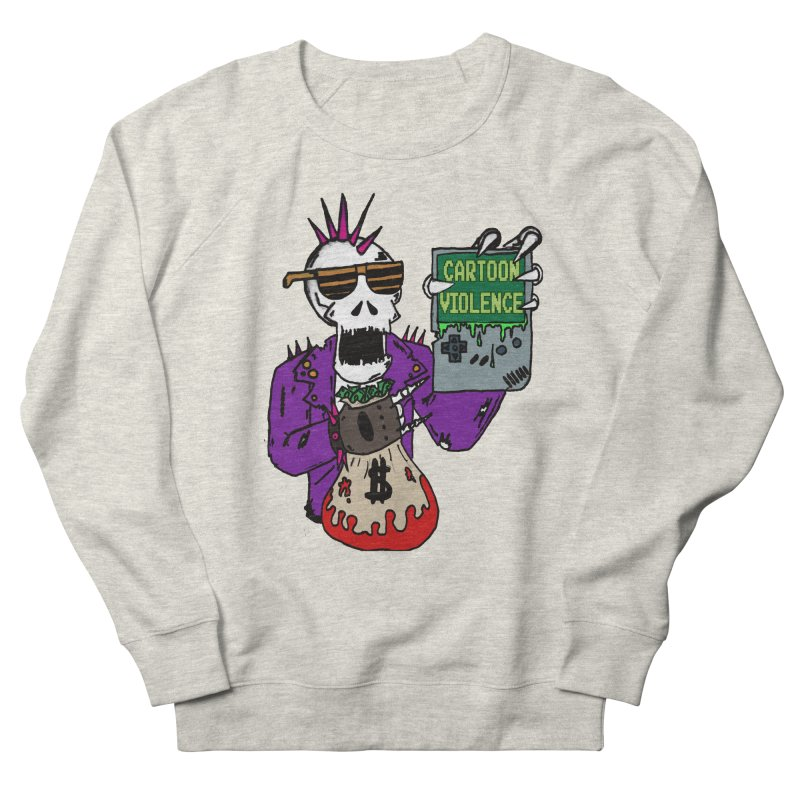 Death Taxes and Chiptunes Men's Sweatshirt by Shirts by Cartoon Violence