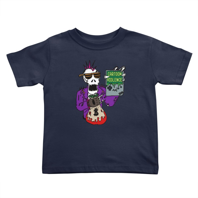 Death Taxes and Chiptunes Kids Toddler T-Shirt by Shirts by Cartoon Violence