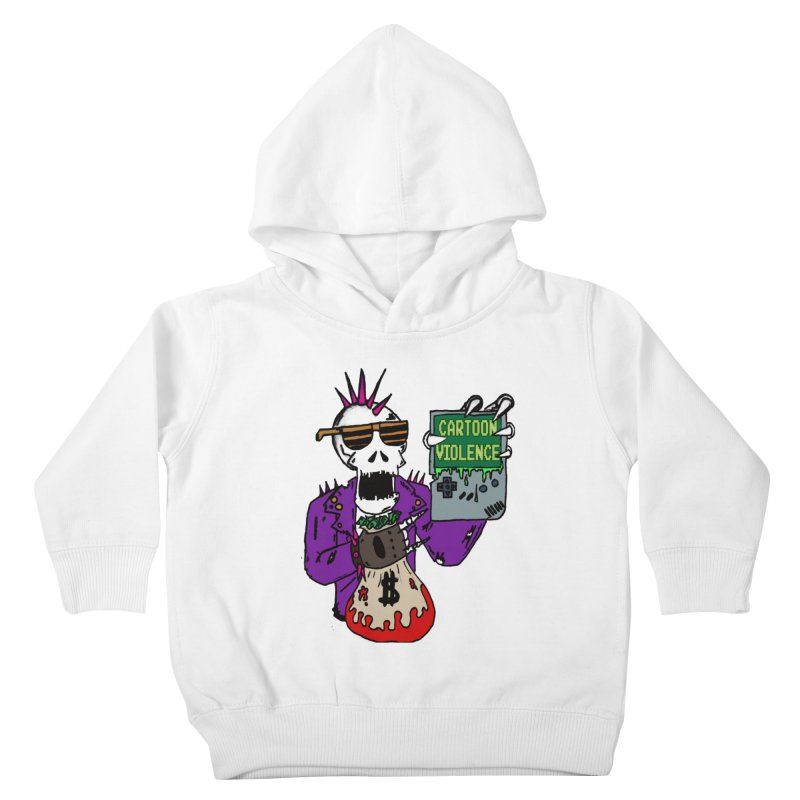 Death Taxes and Chiptunes Kids Toddler Pullover Hoody by Shirts by Cartoon Violence