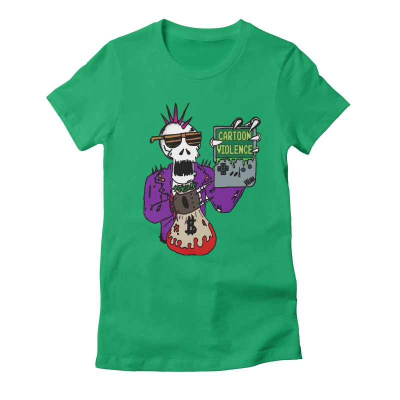 Death Taxes and Chiptunes Women's T-Shirt by Shirts by Cartoon Violence