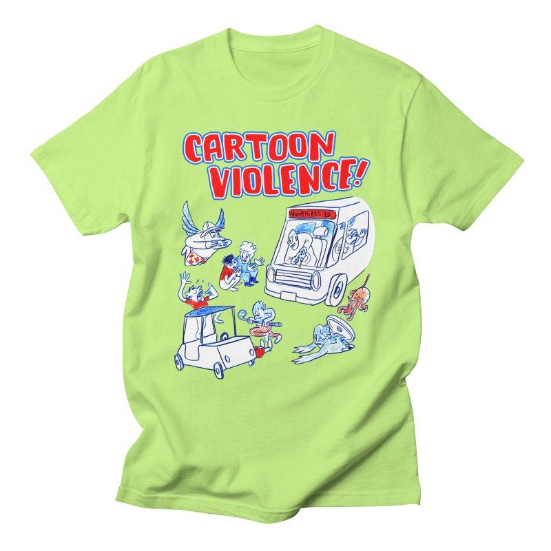 Get Ready For Cartoon Violence! Men's T-Shirt by Shirts by Cartoon Violence