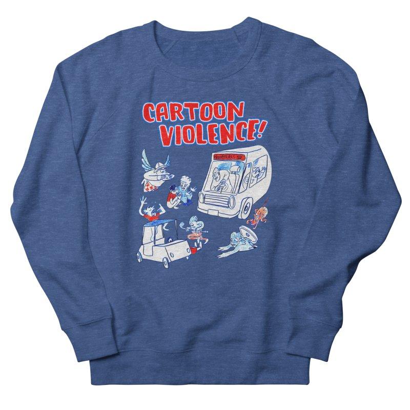 Get Ready For Cartoon Violence! Men's Sweatshirt by Shirts by Cartoon Violence