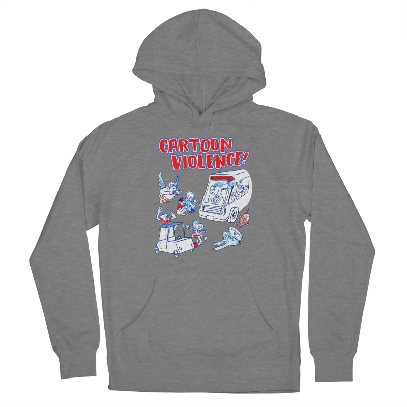 Get Ready For Cartoon Violence! Men's Pullover Hoody by Shirts by Cartoon Violence