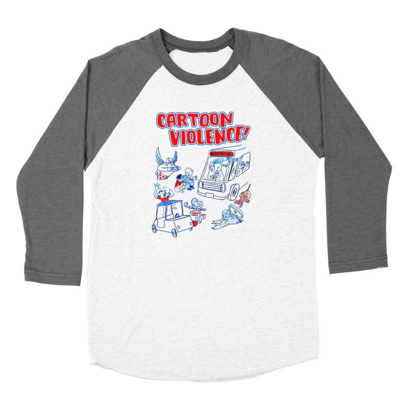 Get Ready For Cartoon Violence! Women's Longsleeve T-Shirt by Shirts by Cartoon Violence