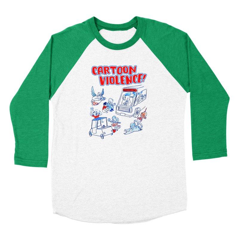 Get Ready For Cartoon Violence! Women's Longsleeve T-Shirt by Shirts by Cartoon Violence