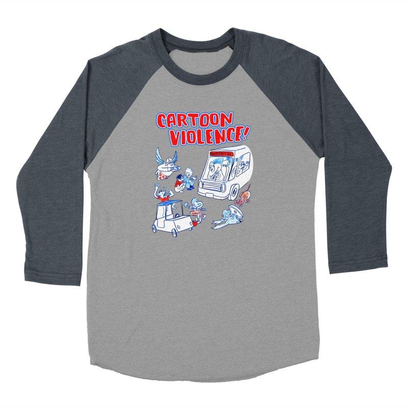 Get Ready For Cartoon Violence! Men's Longsleeve T-Shirt by Shirts by Cartoon Violence