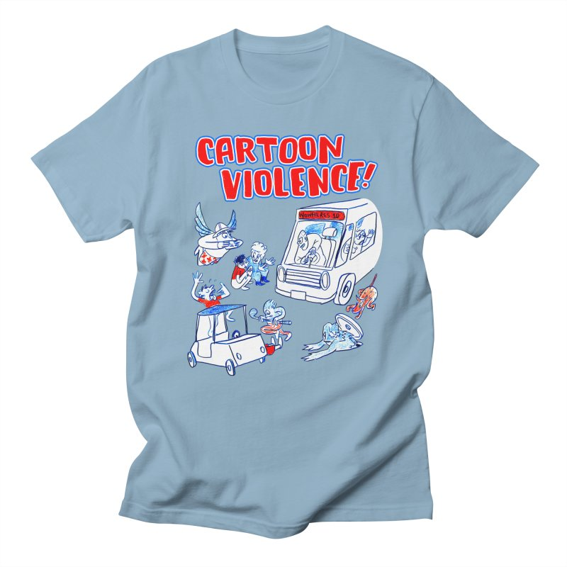 Get Ready For Cartoon Violence! Men's T-Shirt by Shirts by Cartoon Violence