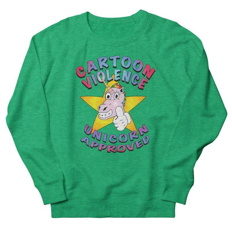 Unicorn Approved Women's Sweatshirt by Shirts by Cartoon Violence