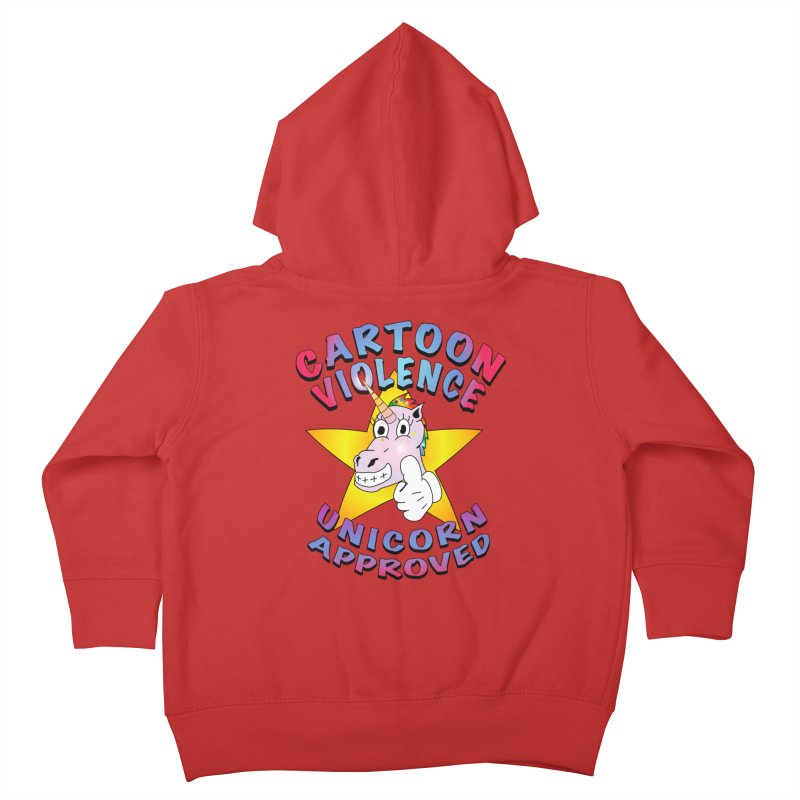 Unicorn Approved Kids Toddler Zip-Up Hoody by Shirts by Cartoon Violence