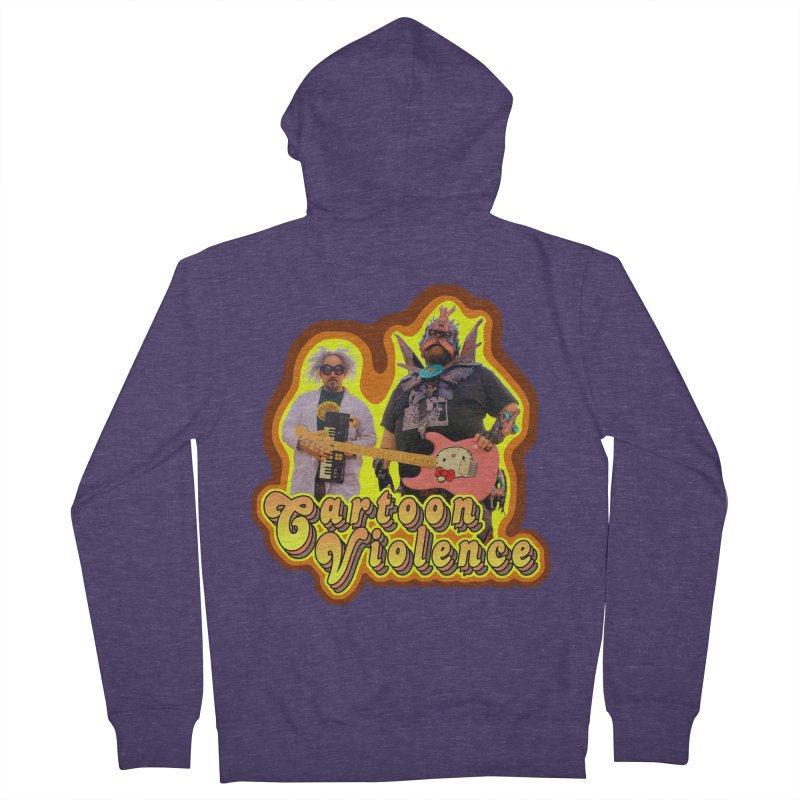 That 70's Shirt Men's French Terry Zip-Up Hoody by Shirts by Cartoon Violence