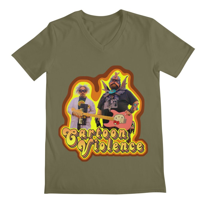 That 70's Shirt Men's Regular V-Neck by Shirts by Cartoon Violence