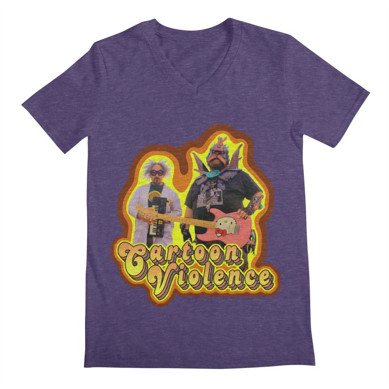 That 70's Shirt Men's V-Neck by Shirts by Cartoon Violence