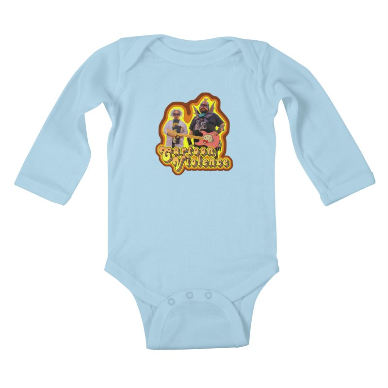 That 70's Shirt Kids Baby Longsleeve Bodysuit by Shirts by Cartoon Violence