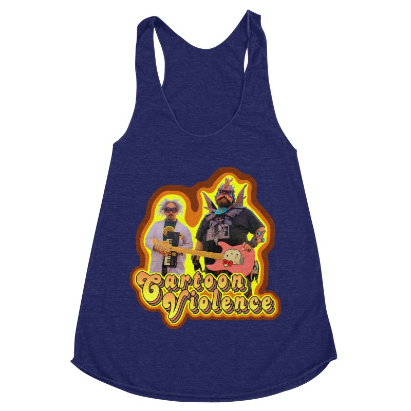 That 70's Shirt Women's Racerback Triblend Tank by Shirts by Cartoon Violence