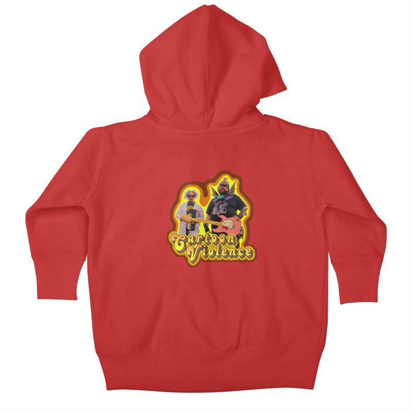 That 70's Shirt Kids Baby Zip-Up Hoody by Shirts by Cartoon Violence