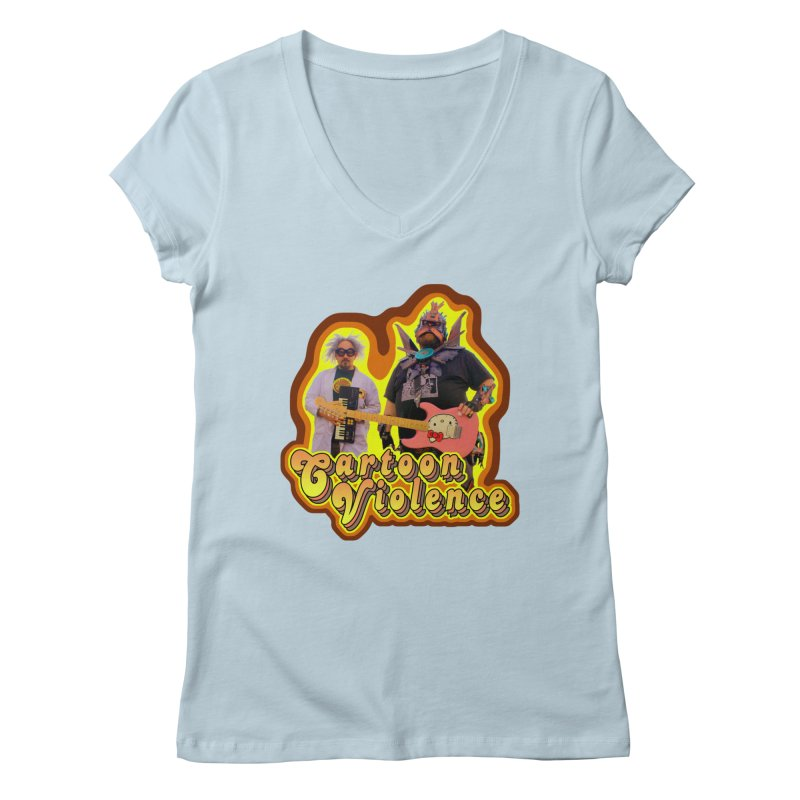 That 70's Shirt Women's Regular V-Neck by Shirts by Cartoon Violence