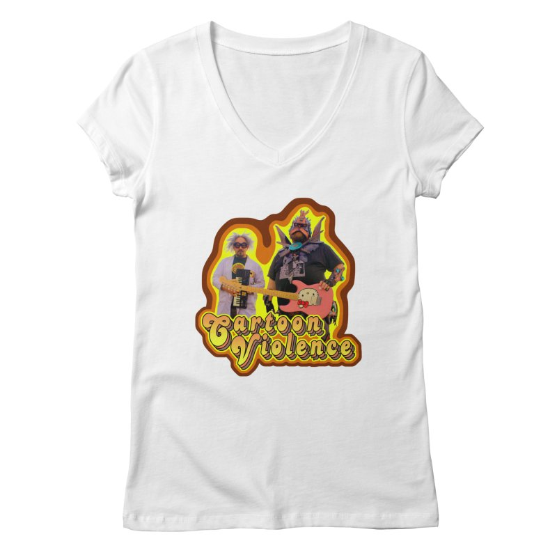 That 70's Shirt Women's Regular V-Neck by Shirts by Cartoon Violence