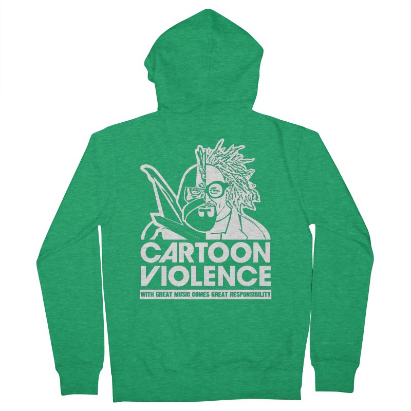 Two Face Shirt Men's Zip-Up Hoody by Shirts by Cartoon Violence
