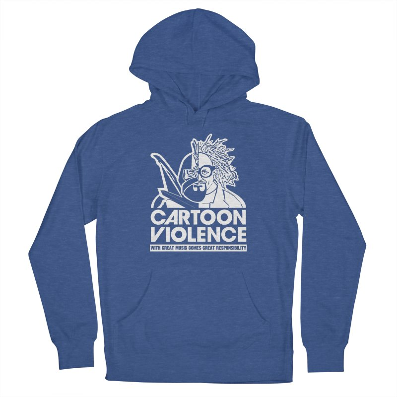 Two Face Shirt Men's Pullover Hoody by Shirts by Cartoon Violence