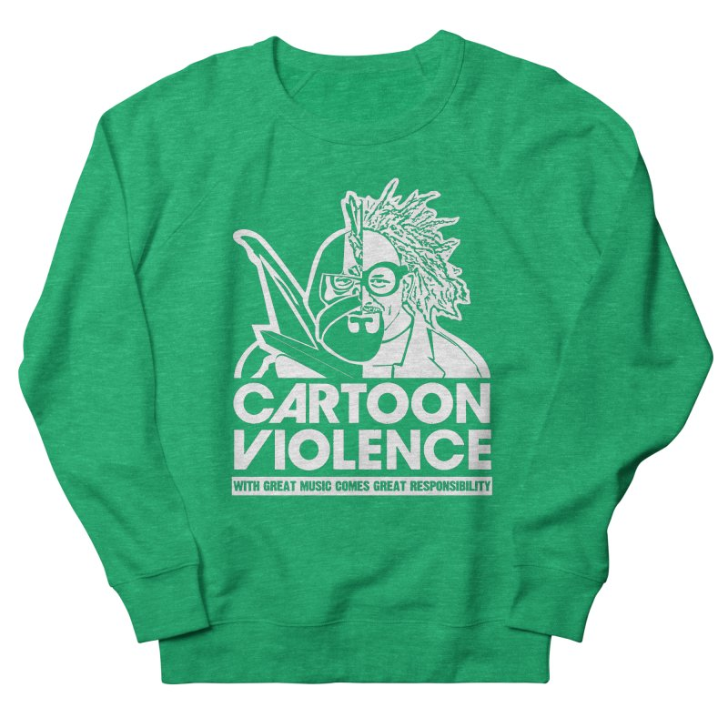 Two Face Shirt Men's Sweatshirt by Shirts by Cartoon Violence