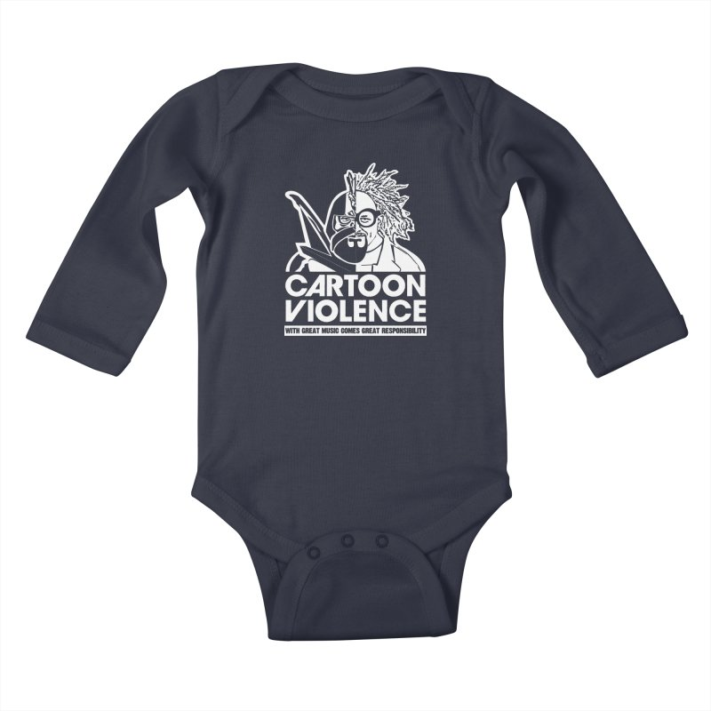 Two Face Shirt Kids Baby Longsleeve Bodysuit by Shirts by Cartoon Violence