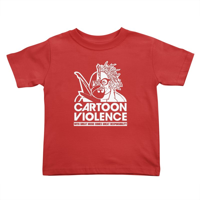 Two Face Shirt Kids Toddler T-Shirt by Shirts by Cartoon Violence