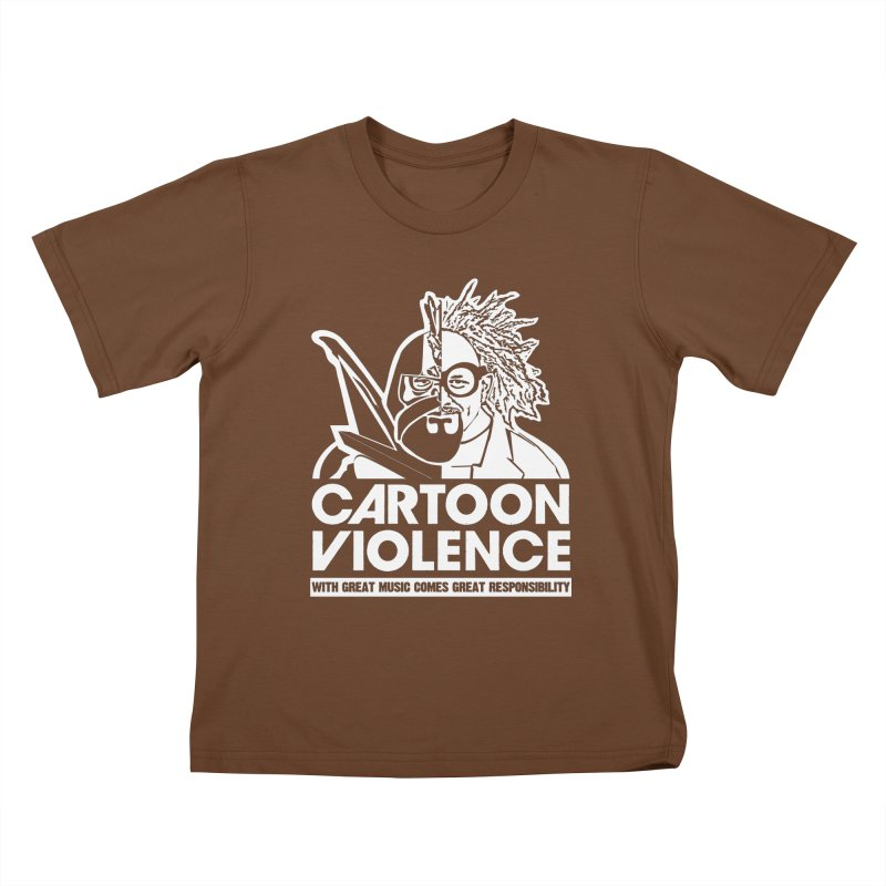 Two Face Shirt Kids T-Shirt by Shirts by Cartoon Violence