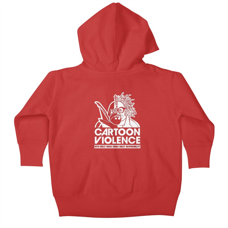Two Face Shirt Kids Baby Zip-Up Hoody by Shirts by Cartoon Violence