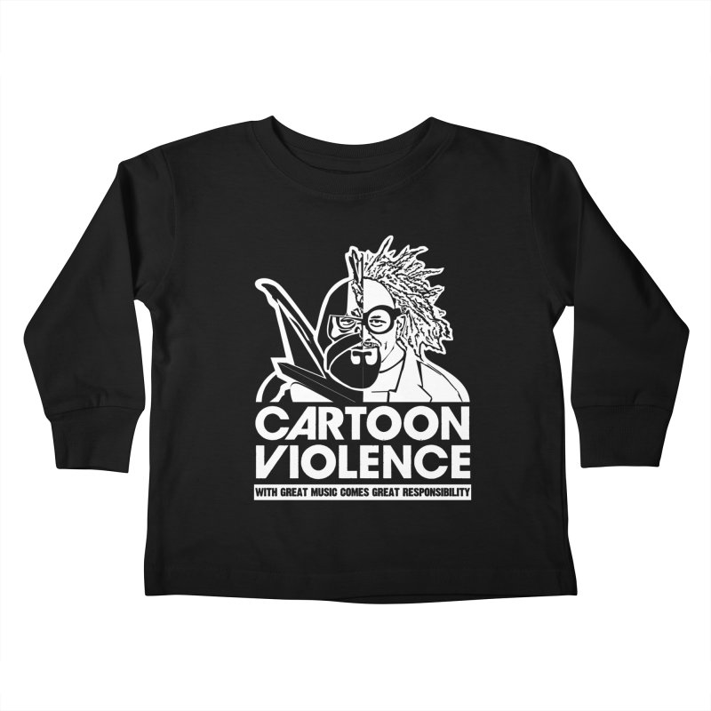 Two Face Shirt Kids Toddler Longsleeve T-Shirt by Shirts by Cartoon Violence