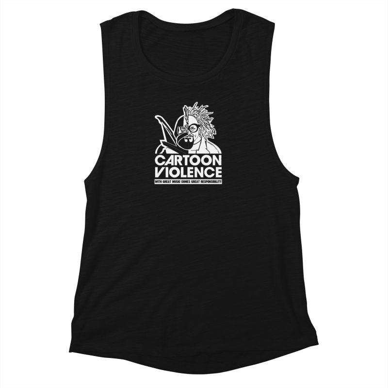 Two Face Shirt Women's Tank by Shirts by Cartoon Violence