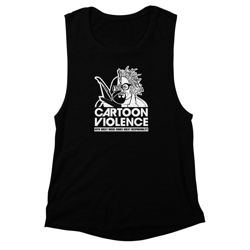 Two Face Shirt Women's Muscle Tank by Shirts by Cartoon Violence