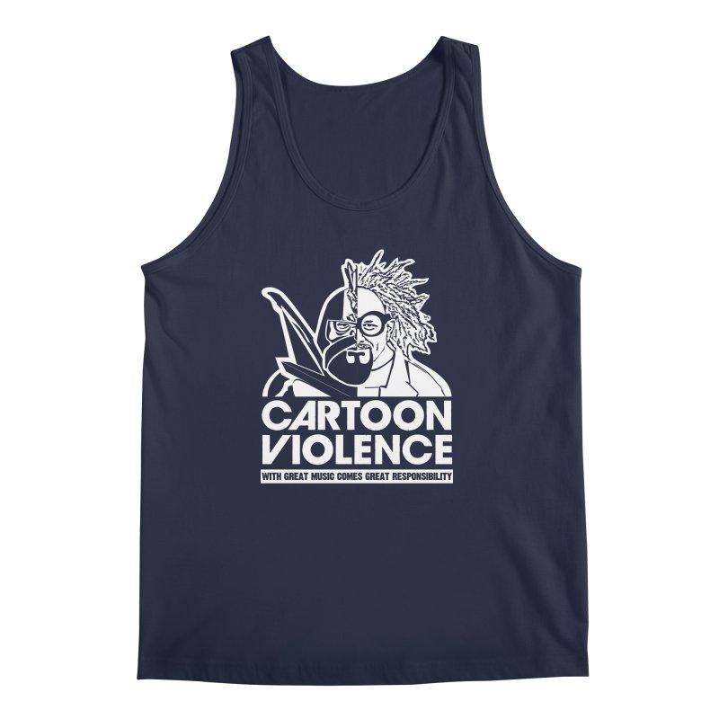Two Face Shirt Men's Regular Tank by Shirts by Cartoon Violence