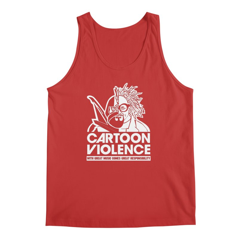 Two Face Shirt Men's Regular Tank by Shirts by Cartoon Violence